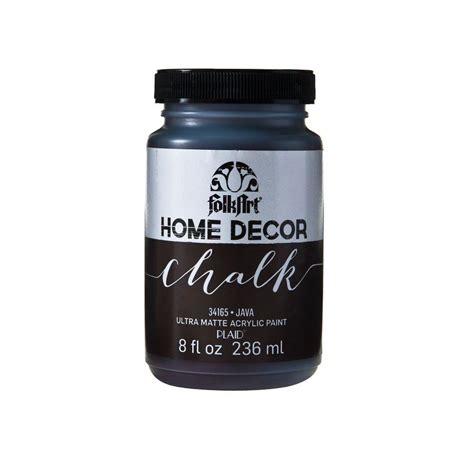 home depot paint finishes folkart home decor 8 oz java ultra matte chalk finish