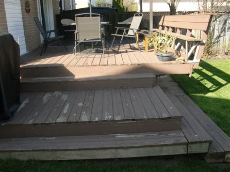 stripping paint  deck   thinner