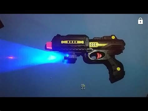 upgrade airsoftgun nerf with barel from tongsis and laser pistol azzuri