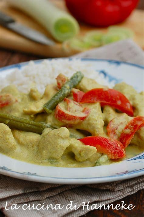 cucinare con il latte di cocco pollo al curry e latte di cocco con verdure la cucina di