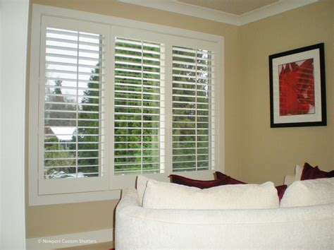 plantation shutters traditional bedroom