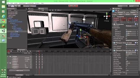 unity android tutorial unity3d android tutorial series person shooter episode 007