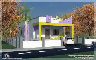Home Design Indian Style by 3 Bedroom South India Style Minimalist Tamilnadu House