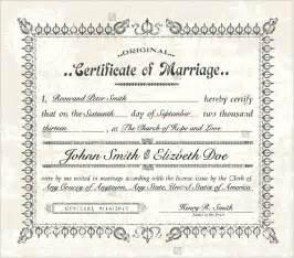 Wedding Certificate Templates Free Printable by Wedding Certificate Template 22 Free Psd Ai Vector