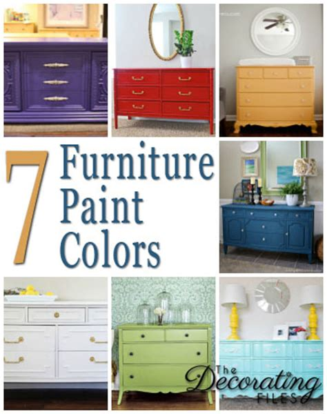 furniture paint colors furniture paint colors 7 fabulous selections