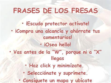 imagenes de palabras fresas frases de fresas osea related keywords frases de fresas