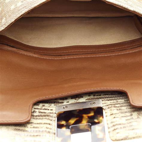 Lizard Skin Clutch By Bottega Venetta by Bottega Veneta Fold Lizard And Resin Clutch At 1stdibs