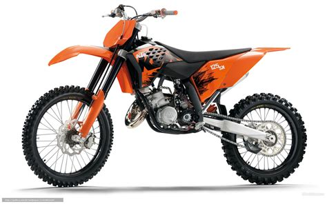 Motocross Ktm 125 Wallpaper Ktm Motocross Sx 125 Sx 125 Sx 2007
