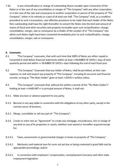 convertible loan agreement template convertible note agreement template purchase agreement 5