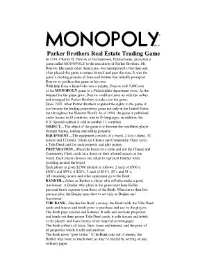 printable monopoly directions onlinemonopoly fill online printable fillable blank