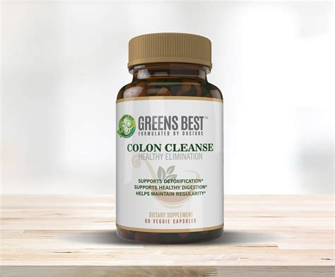 Best Colon Detox Reviews by Best Colon Cleanse Supplement Greens Best Nutrition