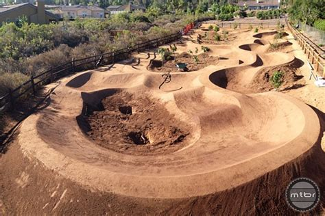How To Design Backyard Landscape by San Diego Trail Builder Elevates Pump Tracks To An Art
