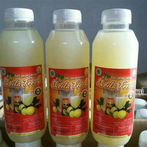 Sari Lemon produsen sari lemon fresh sari lemon jus lemon