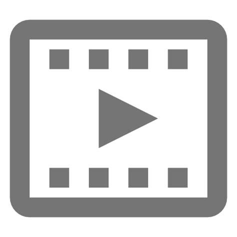 imagenes png video icono de video clip 3 gratis de nova icons