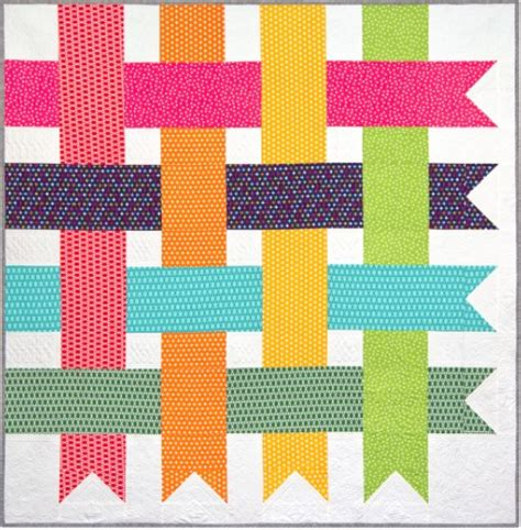 free pattern simple streamers quilt by robert kaufman