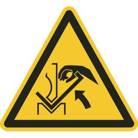 Aufkleber Quetschgefahr by Quot Warnung Vor Quetschgefahr Der Zwischen Abkantpresse