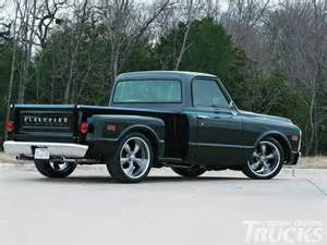 1969 Chevy Truck Custom Wheels 1969 Chevrolet C10 1969 Chevrolet C10 Passenger Side