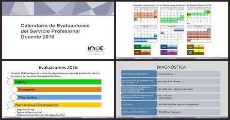 resultados evaluaciones ineval docentes 2016 resultado de las evaluaciones 2016 calendario de