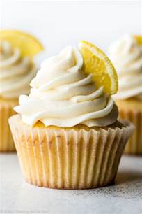 homemade lemon cupcakes with vanilla frosting sallys baking addiction