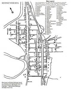 map of rosenberg the center for volga german studies at concordia