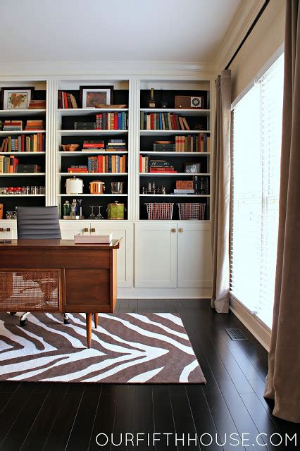 floor to ceiling bookcase with desk our fifth house diy grasscloth wallpaper my