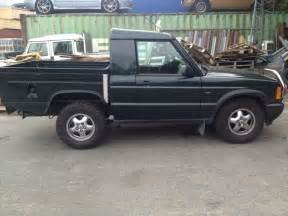 land rover discovery 2 td5 cab conversion