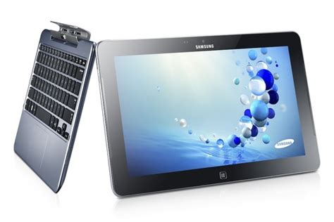 Samsung Tab Laptop samsung ativ smart pc and smart pc pro with keyboard dock unveiled slashgear