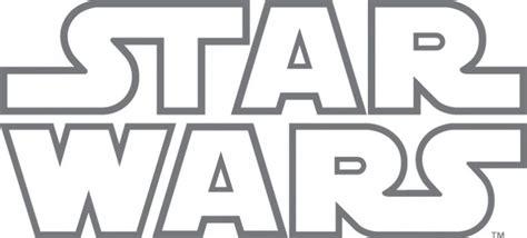 printable star wars logo star wars logo designer png vector free images