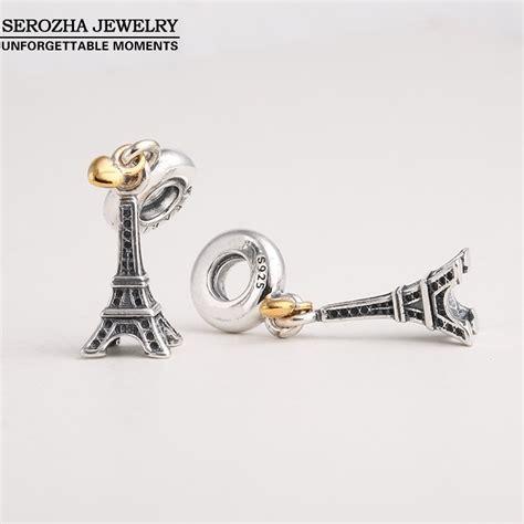 Pandora Eiffel Tower Charms P 561 cheap wholesale authentic 925 sterling silver eiffel tower charms fit pandora bracelets