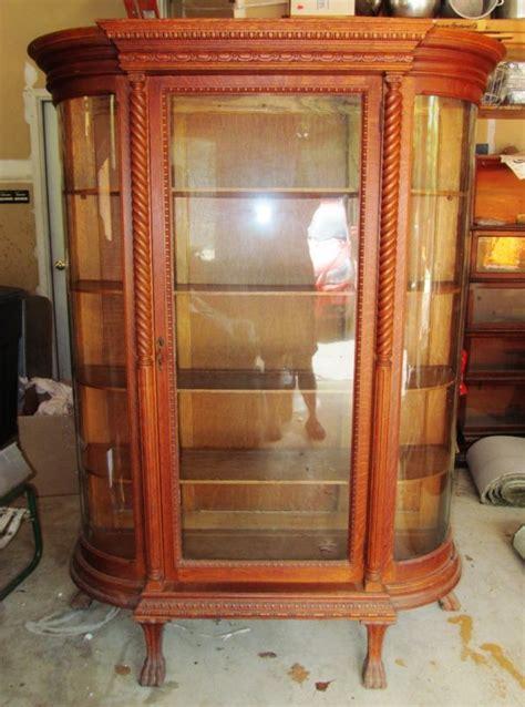 antique curio cabinets for sale antique glass curio cabinet for sale