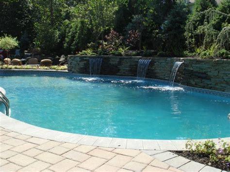 gräser für den garten 17 steinmauer pool