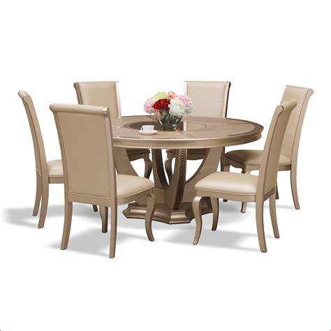 7 pc dining room set value city furniture dining room sets elegant allegro 7 pc