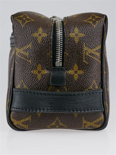 louis vuitton monogram macassar canvas toiletry kit bag