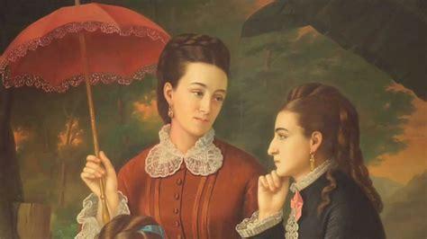 las hijas de alfonso plat 237 came una obra juan cordero retrato de las hijas del lic manuel cordero 1875 youtube
