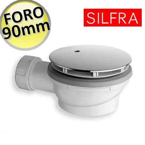 piletta sifonata per piatto doccia 3s piletta sifonata ribassata altezza 60 mm per piatto