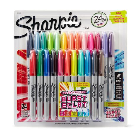 sharpie pen colors sharpie electro pop limited edition ultra point