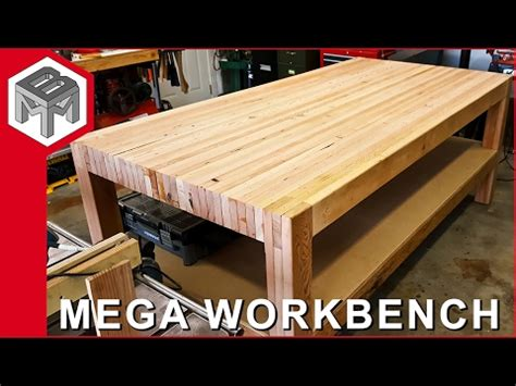 youtube woodworking bench mega workbench how to make a woodworking bench youtube