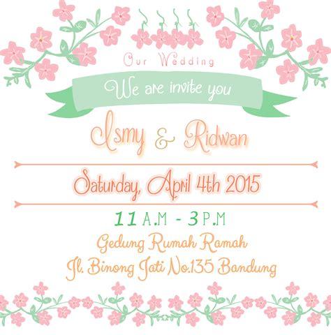 desain kartu ucapan happy wedding wedding invitation zulazula s blog