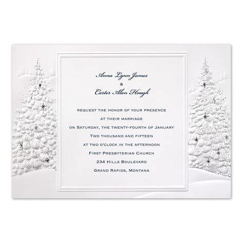 Winter Wedding Invitations by Wedding Invitation Invitations By