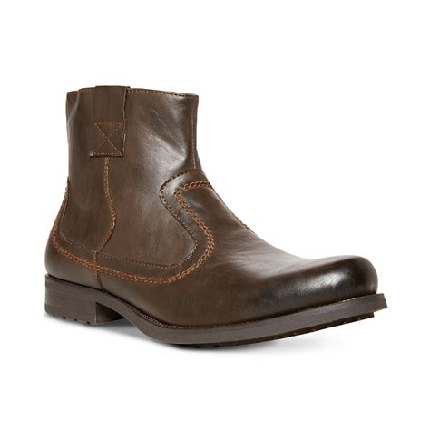 steve maddens boots steve madden solarr boots in brown for lyst