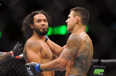 benson henderson tattoo benson henderson vs rafael dos anjos fight