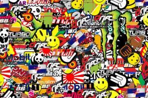 Sticker Wall Paper Sticker Bomb Wallpaper Hd Wallpapersafari