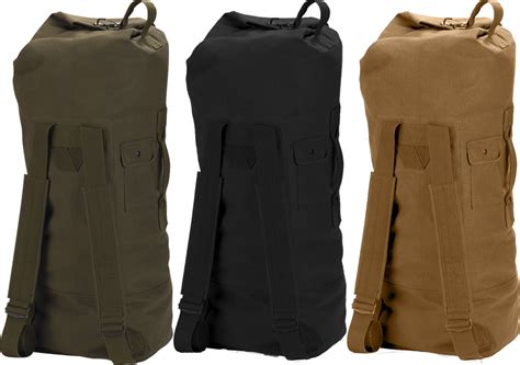 duffle bag or backpack heavy duty top load duffle bag backpack with straps