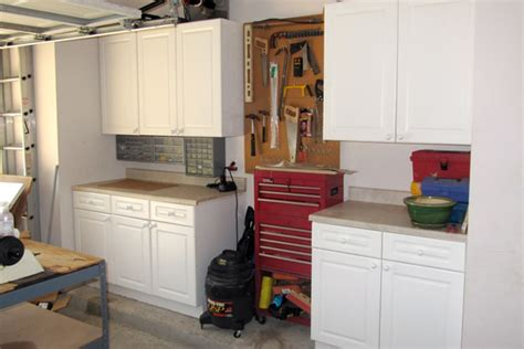 kitchen cabinets in garage garage storage garage organization ideas home
