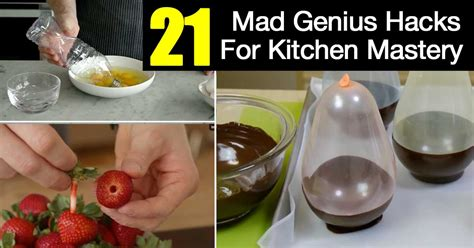 kitchen hacks 21 mad genius hacks for kitchen mastery ohsimply com