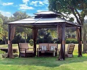 Permanent Awnings For Decks Tubs Gazebo And Tubs On Pinterest