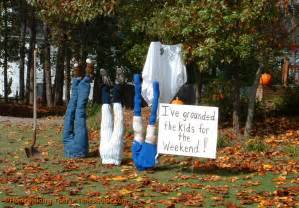 Halloween Decoration Kids Kids Being Bad Ground Them For Halloween This Year Fun
