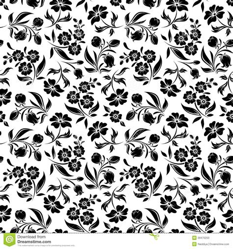 vector pattern white flowers seamless vector background flower texture