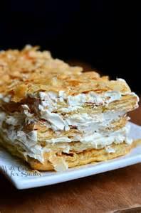 easy napoleon cake recipe www pixshark com images galleries with a bite