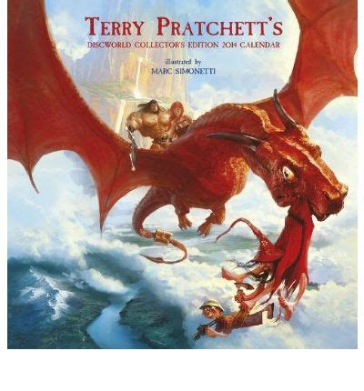 terry pratchetts discworld collectors 147321811x terry pratchett s discworld collector s edition 2014 calendar terry pratchett 9780575103542